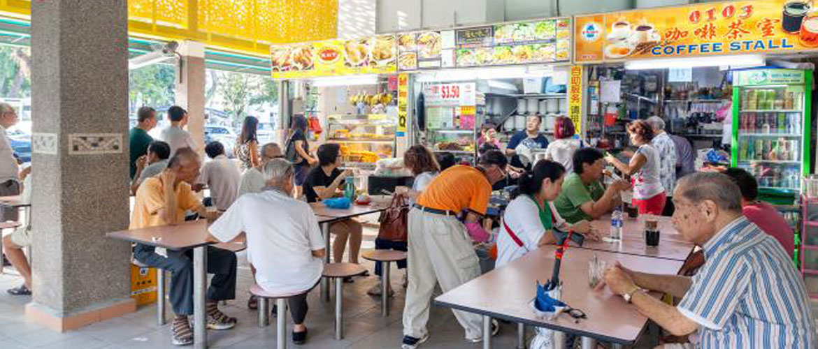 Singapore Hawker Store Food Centre